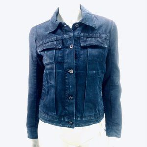 Lucky Brand Dark Wash Denim Jean Jacket